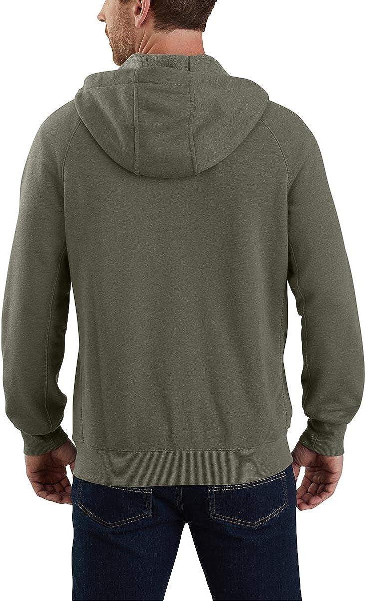 Carhartt Mens 103851 Force Delmont Graphic Full-Zip Hooded Sweatshirt