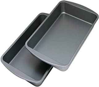 """product image for G & S Metal Products Company OvenStuff 2-Piece Set-Includes Two 10.9"""" x 7"""" Nonstick Baking Pans, Perfect for Making Brownies, Biscuits, Casseroles, and Side Dishes, Medium"""