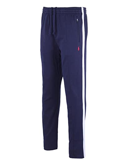 Polo Ralph Lauren Men s Big and Tall Interlock Cotton Track Pants (4LT,  French Navy 4b40bd14eeab