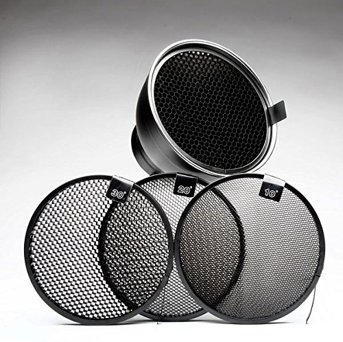 7 Inch Reflector and 4 Grids Combo