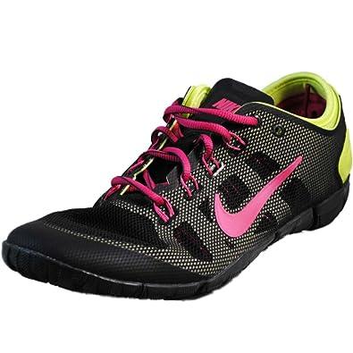 newest 779dc c3353 Nike Womens Free Bionic Training Shoe Black Pure Platinum Metallic Silver