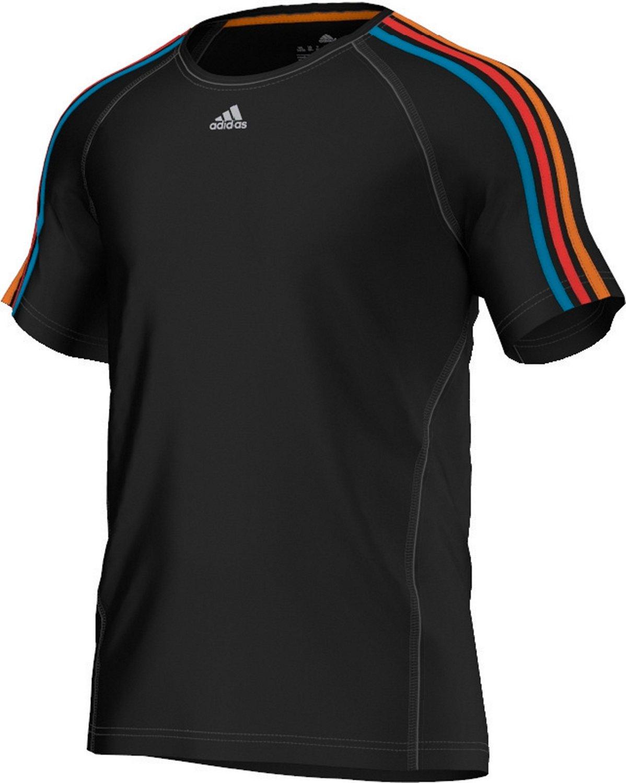 Adidas CL E3S Pool Basic T-shirt-Black Solar Blue Hi-Res Red B black  Size XL  Amazon.co.uk  Sports   Outdoors 9c447dcf46c