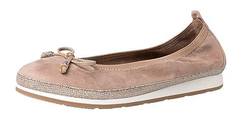 Fitters Footwear Ballerina Celine Taupe 44: Amazon.es