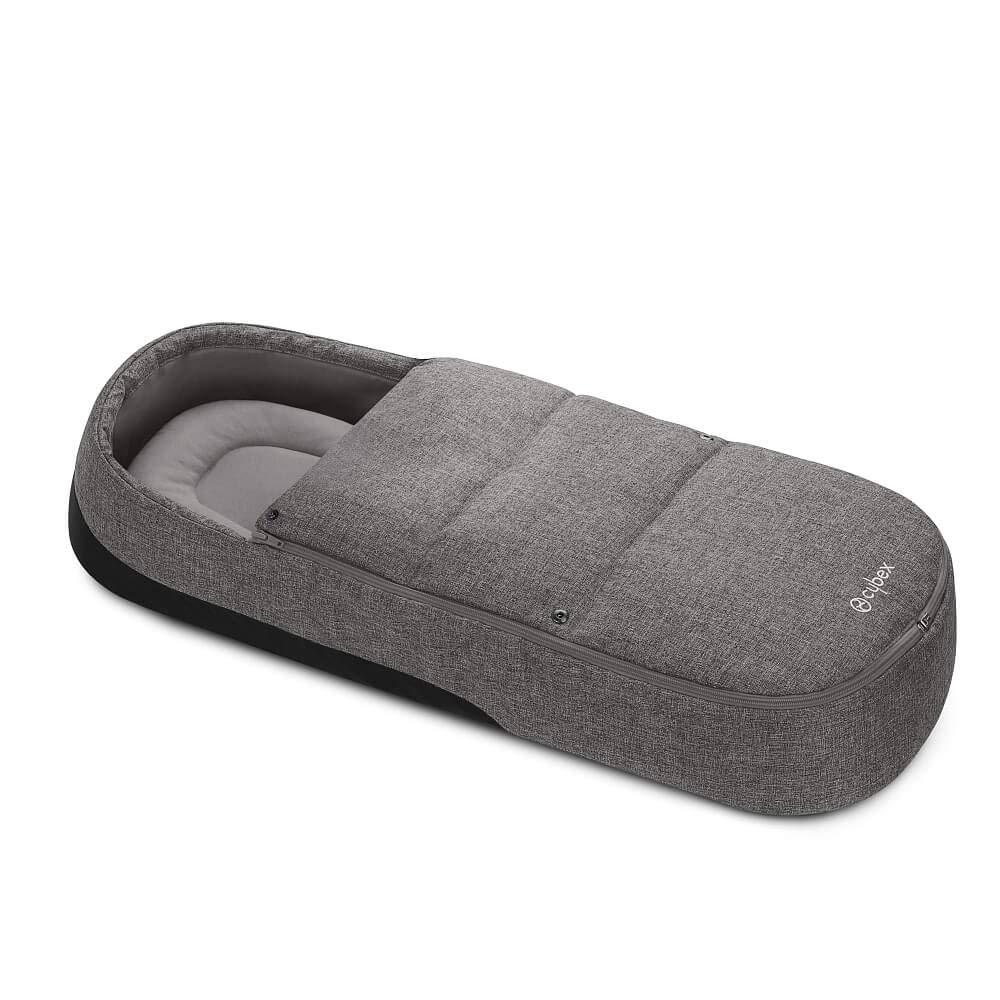 CYBEX Soft Carrycot Cocoon S Manhattan Grey mid Grey