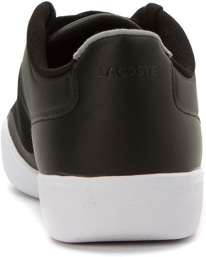 Black Lacoste Men/'s Tramline 116 1 SPM Fashion Sneaker