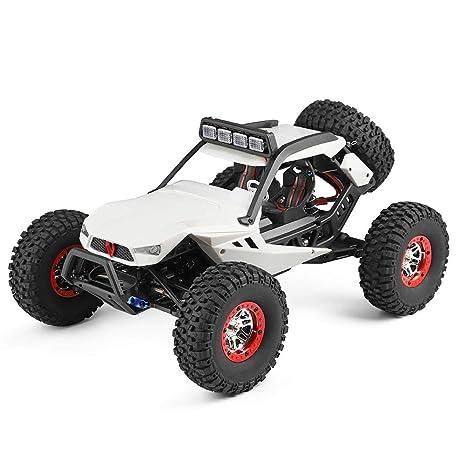 1:12 Coche teledirigido de cuatro ruedas motorizadas vehículo todoterreno juguete vehículo de carreras coche