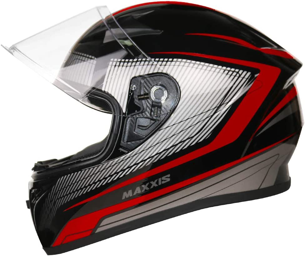 53-54cm Leopard LEO-813 Carbonio Casco Integrale Moto Scooter Motorino Casco Moto Donna e Uomo ECE 22-05 Approvato #1 Nero Opaco XS