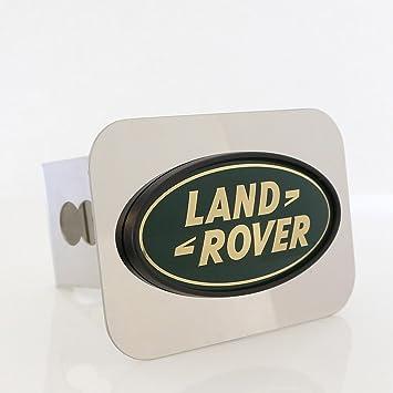 Land Rover verde Logo cubierta de enganche de remolque enchufe