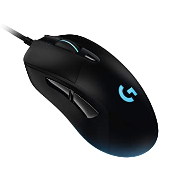 bbaf83b35ab Logitech G403 HERO 16K Gaming Mouse, LIGHTSYNC RGB, Lightweight 87 g + 10 g