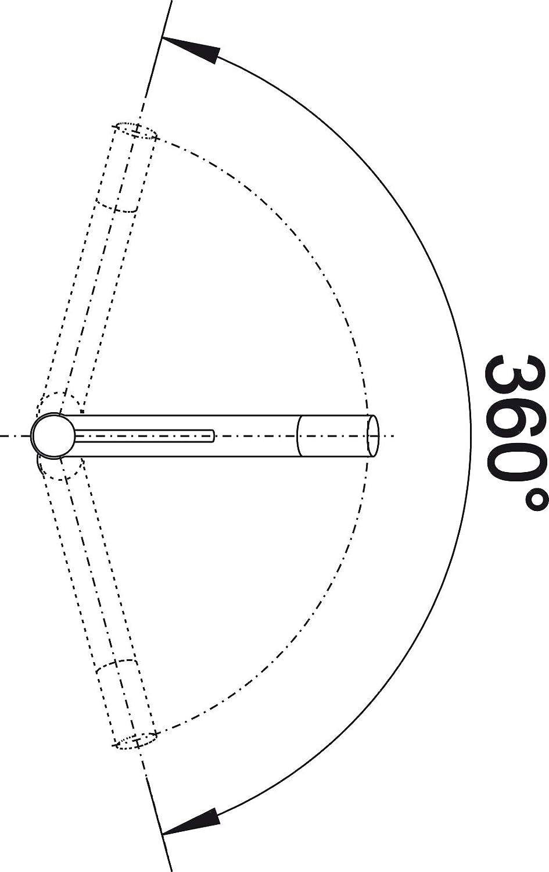 Blanco 515122 Accesorio de ba/ño Hochdruck cromado Schlauchbrause