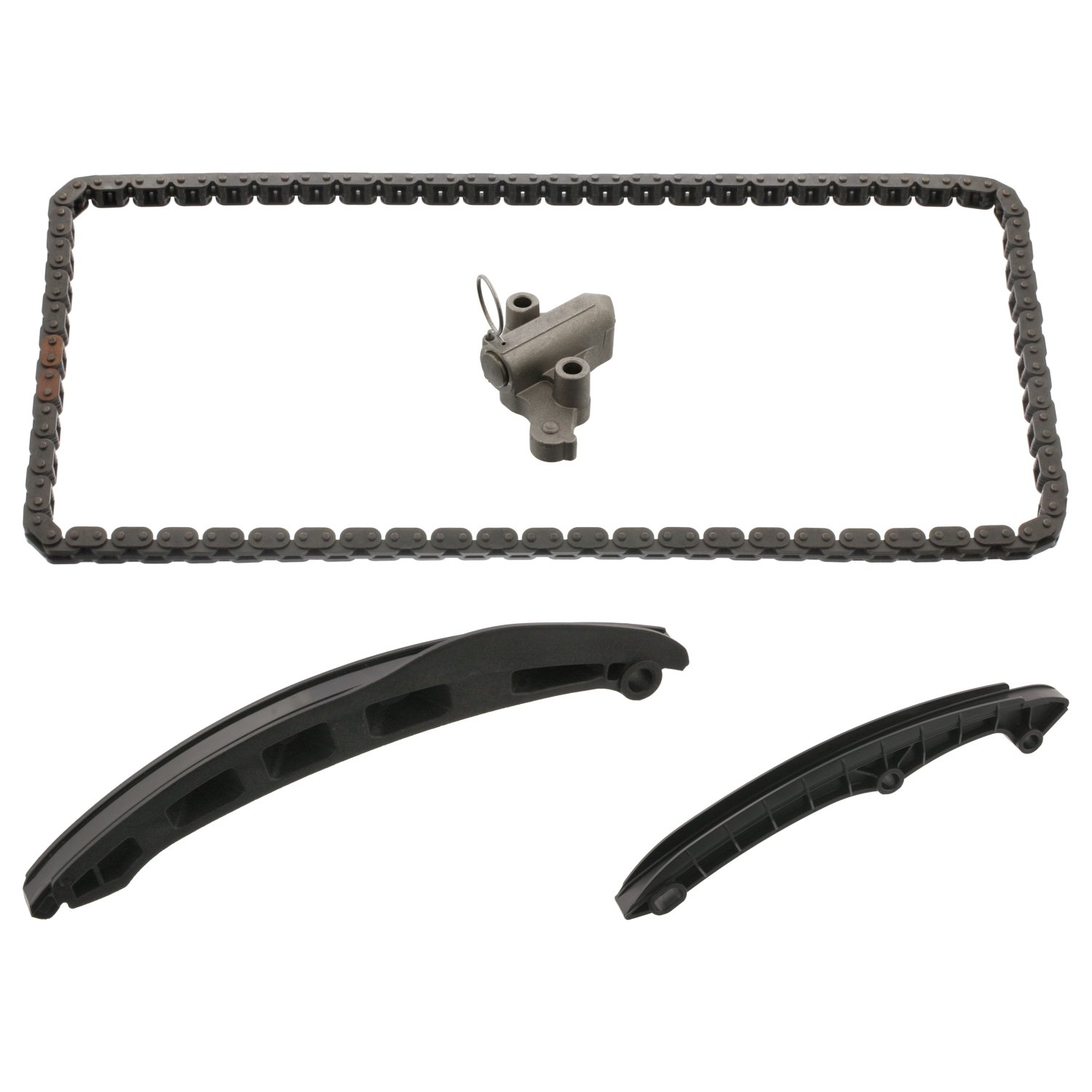 febi bilstein 40672 Timing Chain Kit for camshaft pack of one with sliding rails and chain tensioner