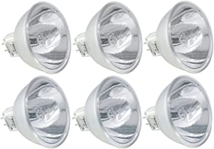 Eiko 02600 - ENX MR16 Projection Lamp, Special Discharge Dichroic Reflector Light Bulb - Pack of 6