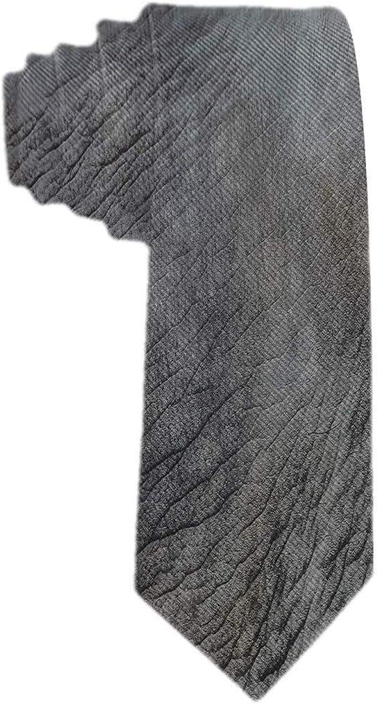Corbata De Patrón De Piel De Elefante Para Hombre Corbata Corbatas ...