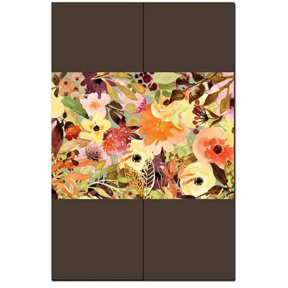 Fall Floral Invitation Kit - 80 Pack