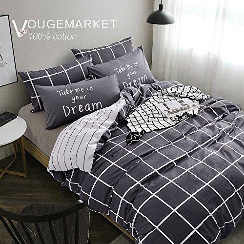 Vougemarket Cotton 3 pieces Prints Closure Full product image