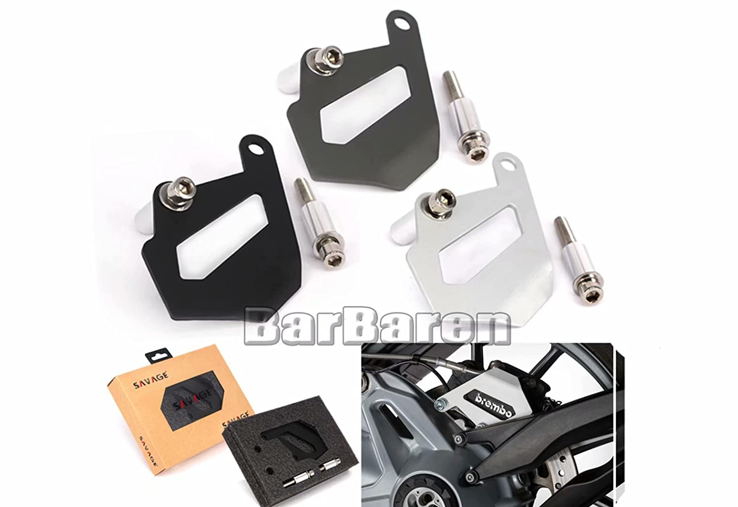 Rear Brake Caliper Cover Guard For BMW R1200GS LC R1200GS ADV R1200RT LC 2014-2017 R1200R LC R1200RS LC 2015-2017 Houshachebenghuzhao-R1200GS LC 1316