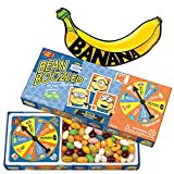 (US) BeanBoozled Minion Edition Jelly Beans with Banana Sticker by ColorBoxCrate, Includes 3.5 oz Jelly Belly Jelly Bean Boozled Game with Spinner in Despicable Me Gift Box, Special Minions Edition Game