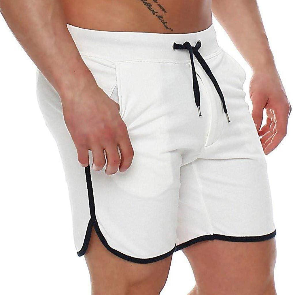 Yliquor Mens Shorts Bermuda Pants Sportswear Summer Pants Sweatpants Comfy Breathable Quick Dry Training Classic Fashion Elastic