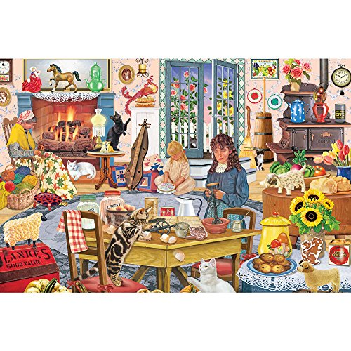 Bits and Pieces - Staying at Grandmas - 1000 Piece Jigsaw Puzzle for Adults