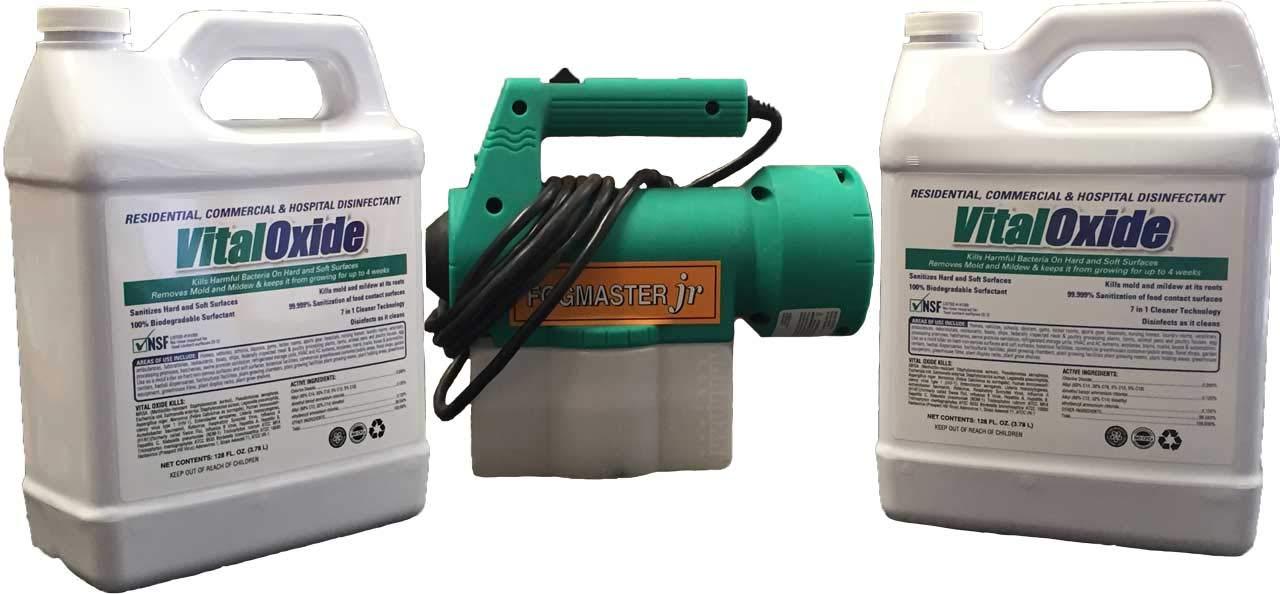 Vital Oxide Disinfectant 2 Gallon + Fogger Special