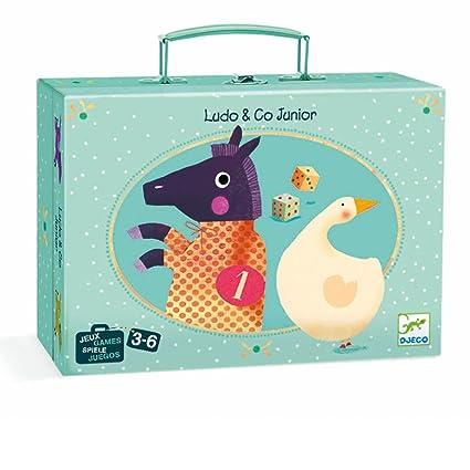 Amazon.com: Djeco - Game Ludo & Co Junior (35226 a): Toys ...