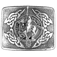 Thompson Scottish Clan Crest Kilt Buckle