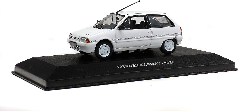 wei/ß Solido S4304900 1:43 Citroen AX Kway Serie 421436580-1 Modellauto Modellfahrzeug