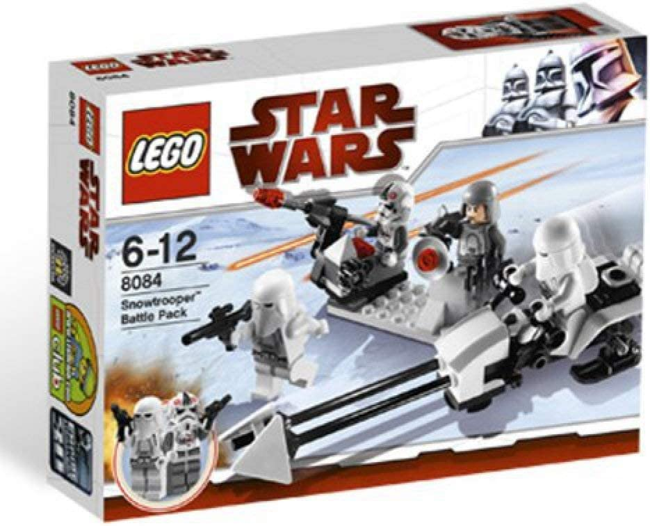 LEGO STAR WARS 8084 Snowtrooper(TM) Battle Pack: Amazon.es ...