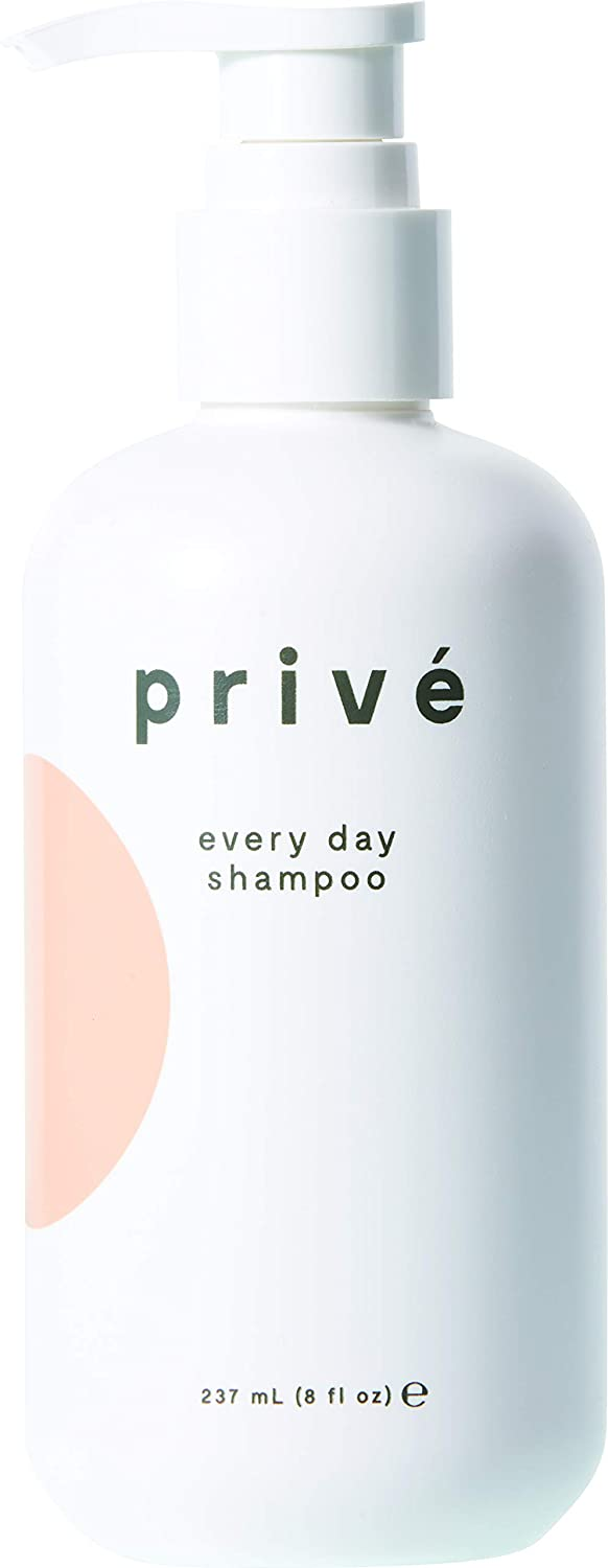 Privé Every Day Shampoo - Nourishing and Moisturizing Shampoo for Daily Use, for All Hair Types, Color-Safe, Natural Plant Superfuel Antioxidants, Revitalizing Oils and Strengthening Proteins (8oz)