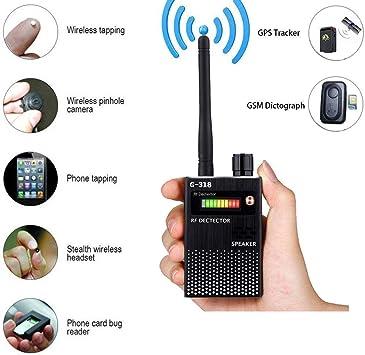 Amazon.com: Detector de señal antiespía GPS Detector de ...