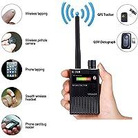 G318 RF Bug Detector,Detect Wide Range Radio GPS Frequency,High Sensitive Wireless Hidden Camera Sweeper