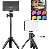 Conference Table Lighting Tripod Kit with VL120 Video Light + Mini Extendable Tripod, Remote Working, Zoom Calls…