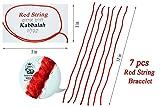 7 pcs Red String Bracelet - Original Kabbalah