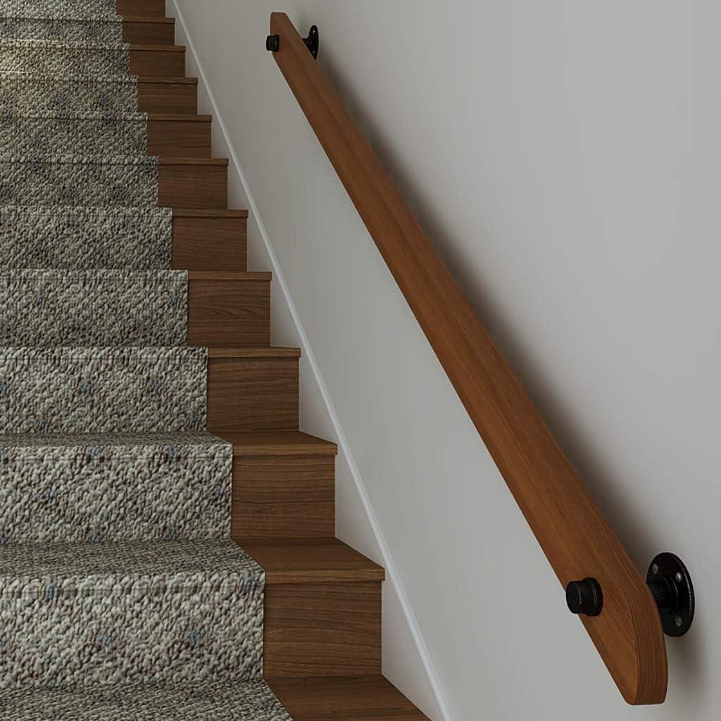 Mains courantes main courante escalier rambarde mur Kit de fixation murale Main courante Lofts 30 avec des bouchons for Villas en bois Balustrades s/écurit/é int/érieurs Rails int/érieur et ext/érieur