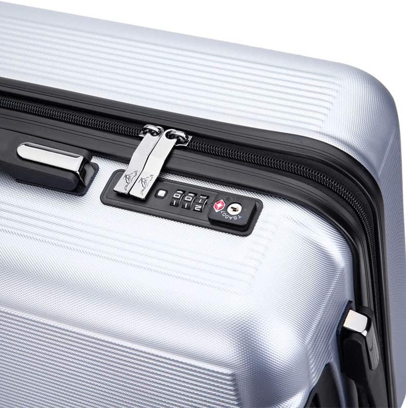 Color : Gray Bahaowenjuguan Trolley Universal Wheel Luggage 24 inch Boarding Pass Box 24 inch Suitcase Black 24 inch
