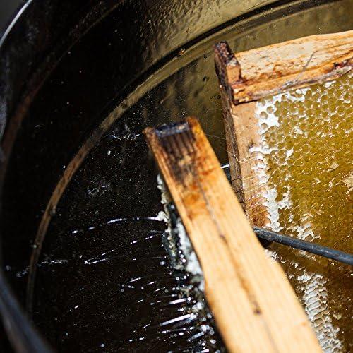 Extractor manual de miel 4 cuadros lucio perca DNM extractor de acero inoxidable ap/ícola
