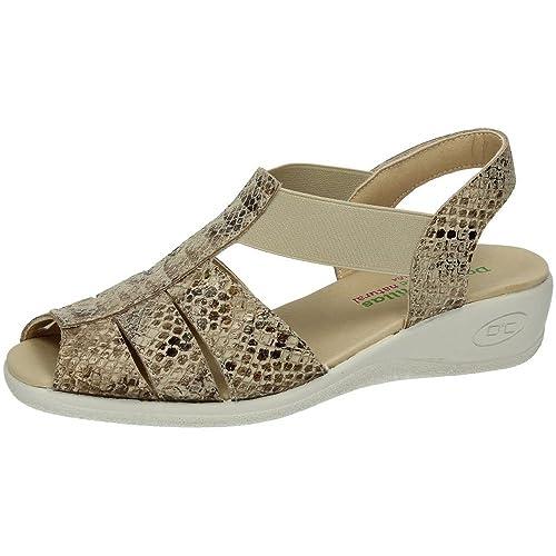 ab1397ce5ce MADE IN SPAIN 92802 Sandalia DE Piel SEÑORA Sandalias  Amazon.es  Zapatos y  complementos