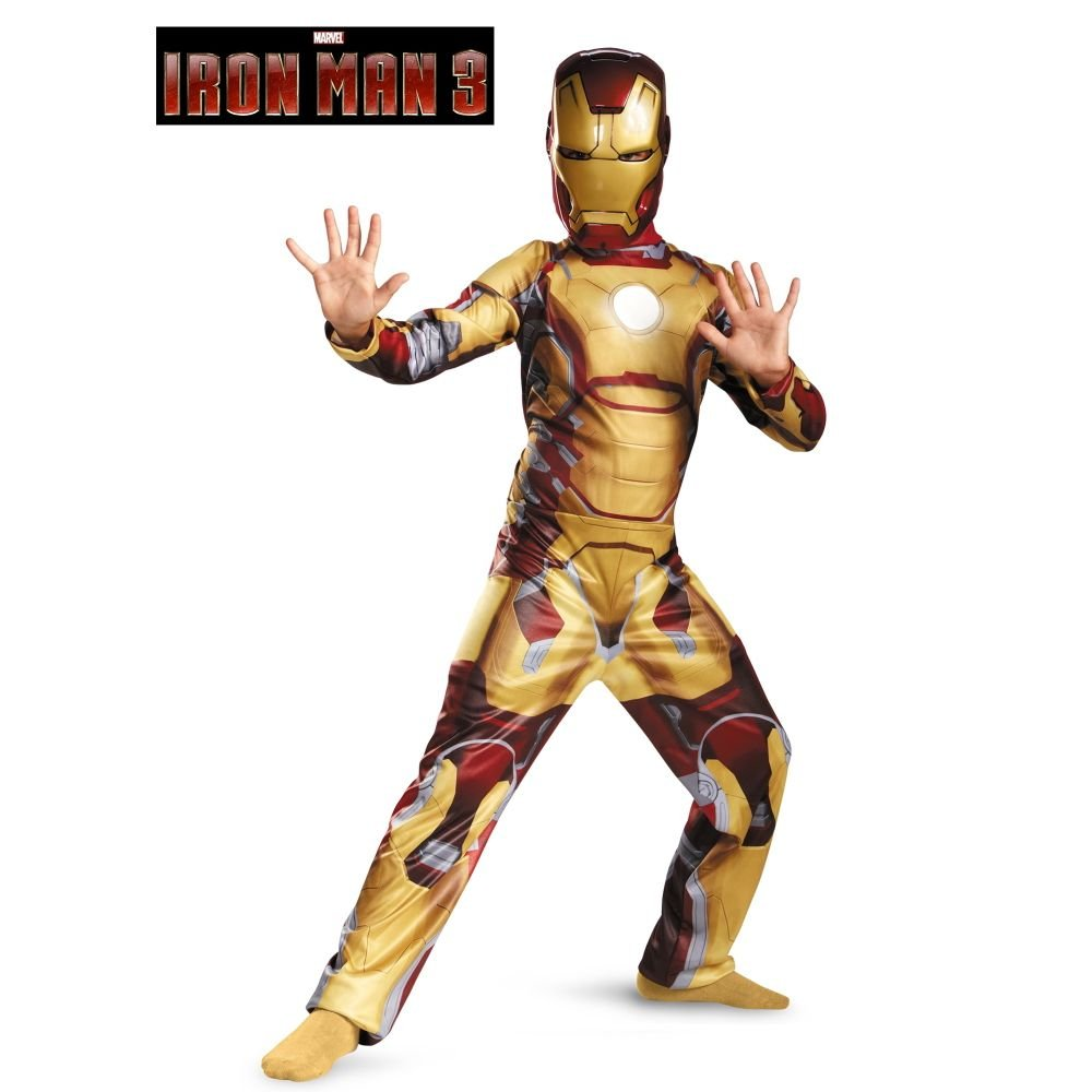 Amazon.com Marvel Iron Man 3 Mark 42 Boys Classic Costume 4-6 Toys u0026 Games  sc 1 st  Amazon.com & Amazon.com: Marvel Iron Man 3 Mark 42 Boys Classic Costume 4-6 ...