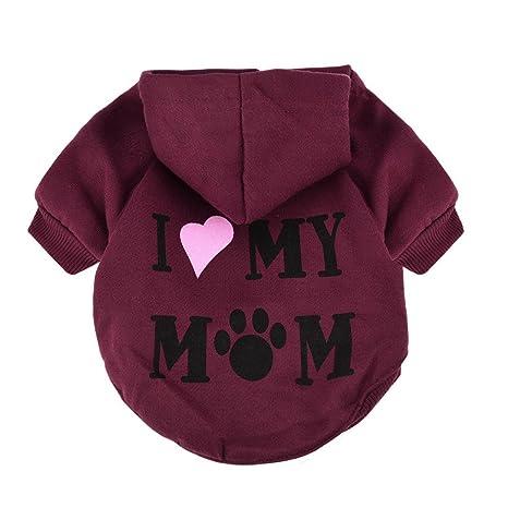 Ropa perros pequeños Amlaiworld Suéter de perros Ropa de perrito Camisas Perrito del traje de mascotas