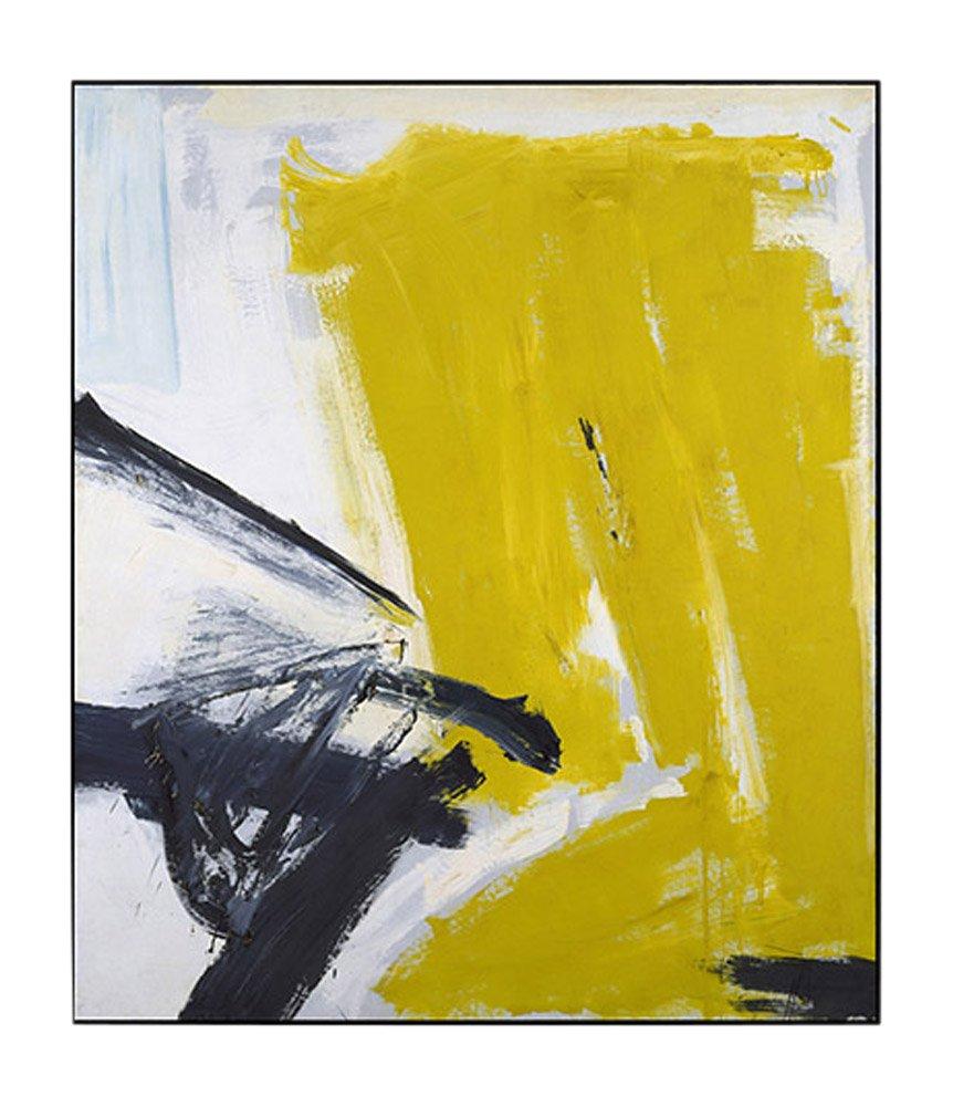 Kline: Zinc Yellow Framed Print