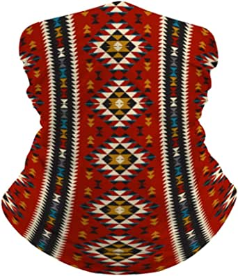 Fish /& Baskets Extra Wide 3 Reusable Non-Toxic Cool Wrap  Neck Cooler Southwest Indian