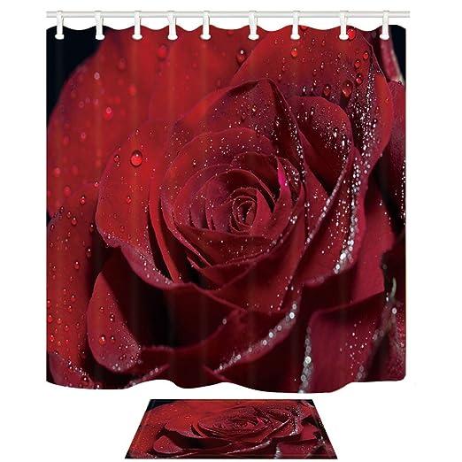 Love Decor Romantische Rote Rosen mit Kristall Tau Fresh ...