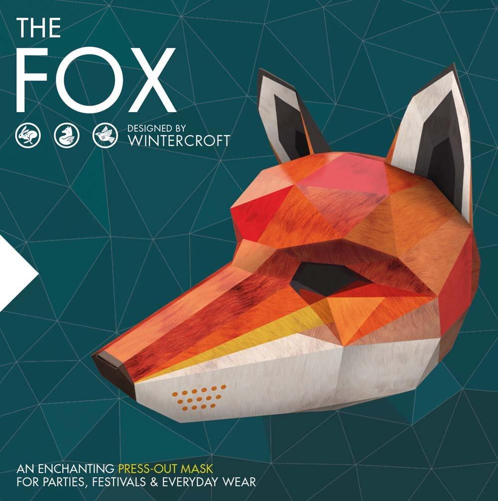 ویکالا · خرید  اصل اورجینال · خرید از آمازون · The Fox: An Enchanting Press-Out Mask for Parties, Festivals & Everyday Wear wekala · ویکالا