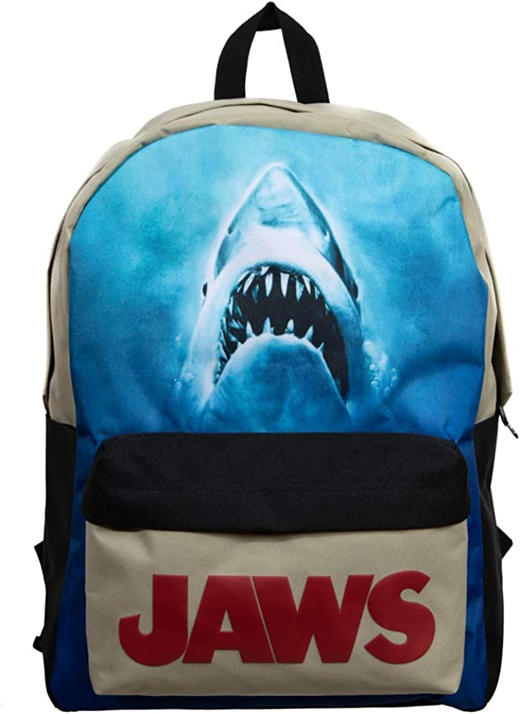 Jaws Classic Horror Movie Shark Tech Backpack