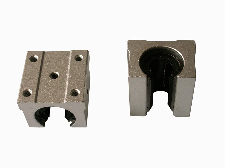 4 SBR16UU BEARING BLOCK Joomen CNC SBR16-2800mm LINEAR SLIDE GUIDE 2 Joint RAIL