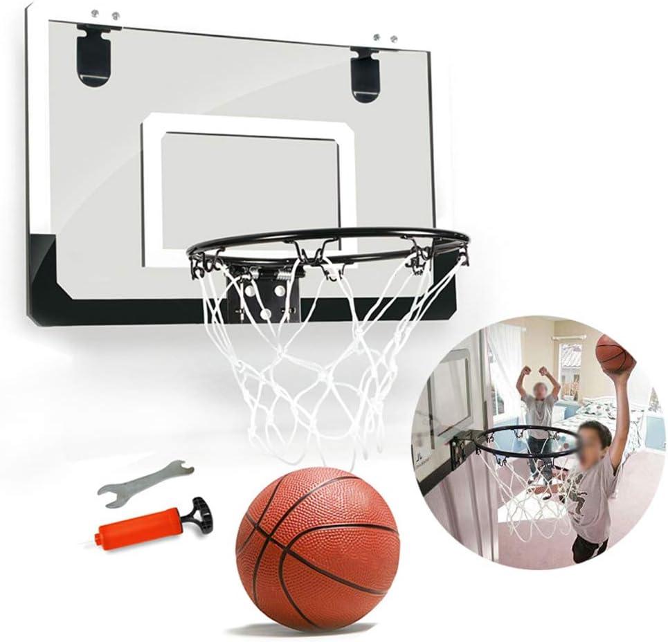 HONGY Mini aro de Baloncesto Colgar con bal/ón de Baloncesto y Tablero de Bomba Regalo para ni/ños y Adolescentes