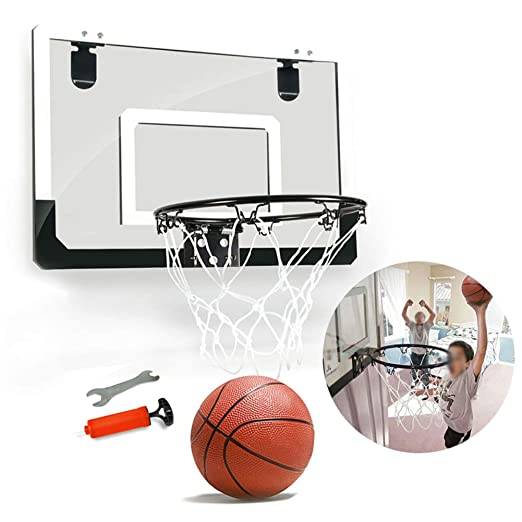 Juego de aros de baloncesto con bola transparente inastillable de ...