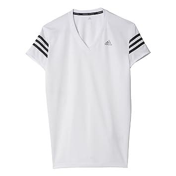 Adidas RS Cap SS W - Camiseta para Mujer, Color Blanco/Negro, Talla XXS: Amazon.es: Deportes y aire libre