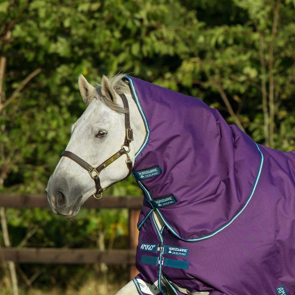 Horseware Amigoフードno fill 紫の/Navy M