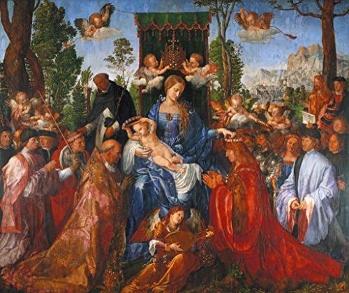 kunst für alle Art Print/Poster: Albrecht Dürer The Festival of The Rosary 1506